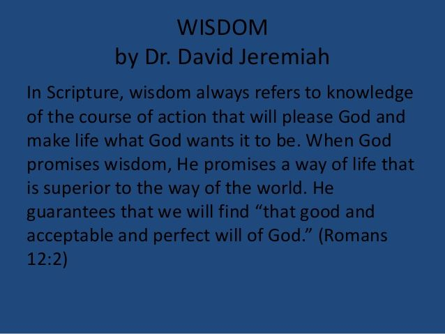 03 March 2, 2014, Proverbs 1;1-7, Seeking Wisdom's Way