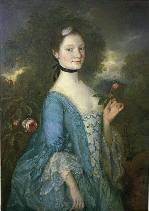Lady Innes, 1757 Gainsborough, Thomas