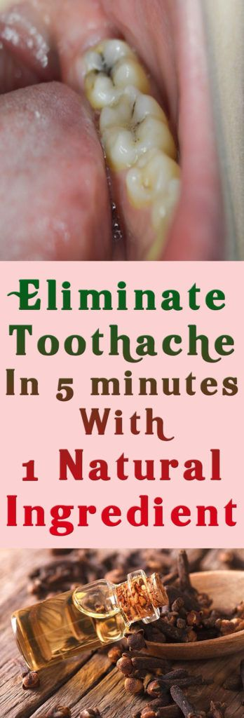 Eliminate Toothache In 5 minutes With 1 Natural Ingredient This spice has been used from ages to provide instant relief from atoothache AND its proven that it really works. If you want a quick relief must try this! Cloves are one of those spices that have many benefits to offer it helps fight against cancer protects the liver helps lose weight and gives almost