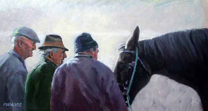 The Negotiation by Barrie Maguire on ArtClick.ie