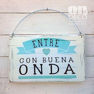 Cartel vintage | BUENA ONDA