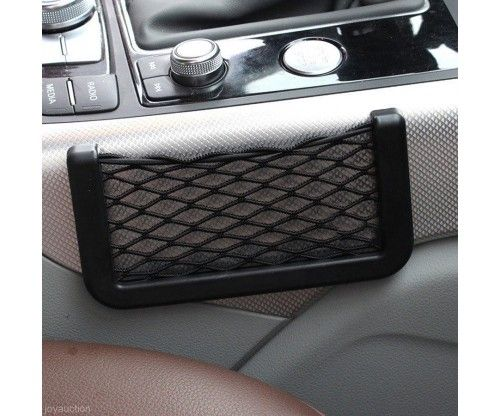 Praktikus autós hálós zseb - öntapadó - telefont, kulcsot, tárcát, zsepit lehet bele tenni