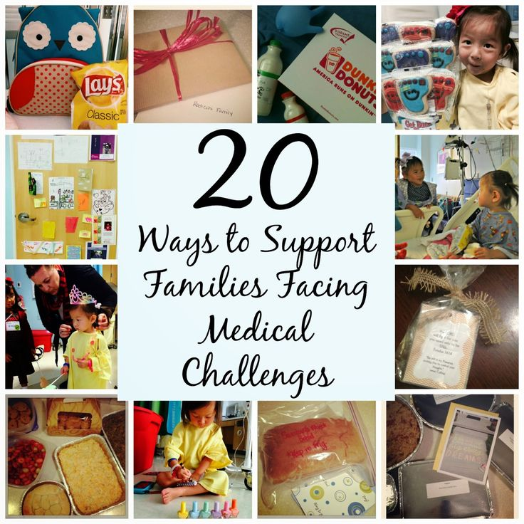 "La Dolce Vita: ""The Sweet Life"": Twenty Ways to Support Families Facing Medical Challenges"
