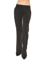 Women's Elizabeth and James Trouser Pants in Black