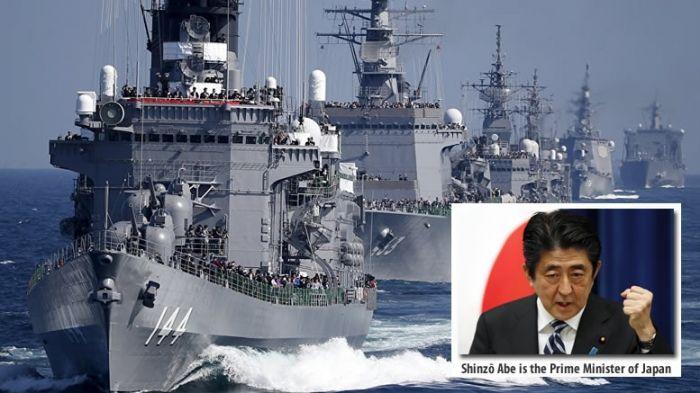 EXCLUSIVO! JAPÃO envia navios de guerra para se juntar à frota dos EUA