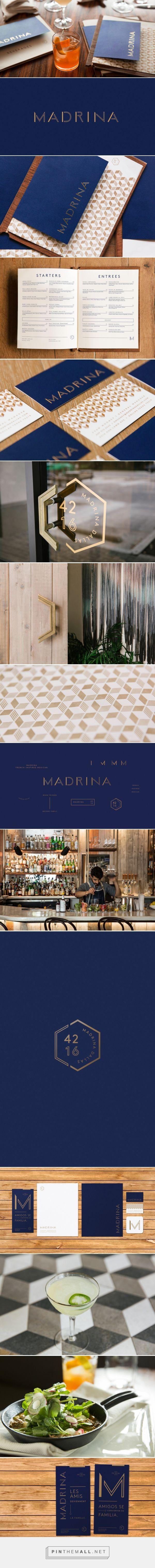 Madrina Restaurant Branding by Mast | Fivestar Branding – Design and Branding…