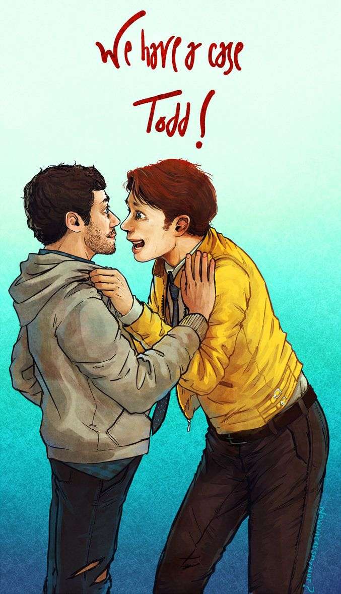 I've just started Dirk gently and I'm already shipping people...