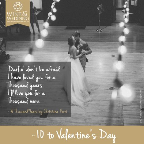 Waiting for #Valentine's Day  -10 #Love songs for your first #wedding dance / A Thousand Years by Christina Perri