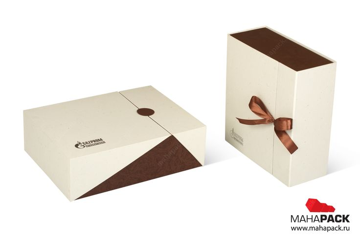 Комплект кашированных коробок для подарков под заказ
