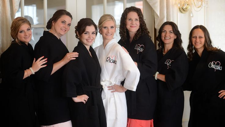 Personalized Bride Robes and Bridesmaid Robes