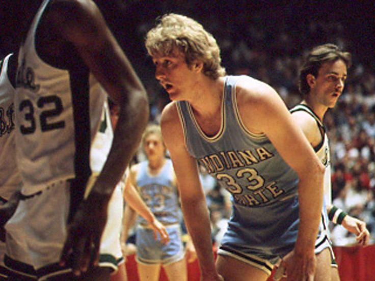 Indiana State Athletics Men's Basketball - Legendary Larry Bird!
