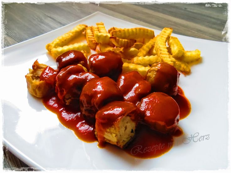 Rezepte mit Herz   ♥: Berliner Currywurst