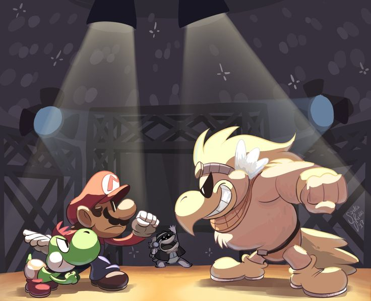 paper mario ttyd agdq painting