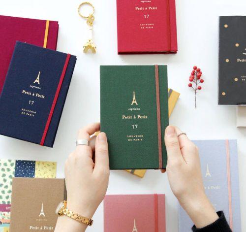 2017-Petit-a-Petit-Diary-MINI-Planner-Journal-Scheduler-Agenda-Schedule-Book