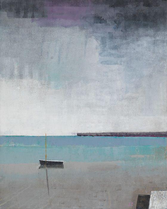 "Gallery Henoch - John Evans, Horizon, 20"" x 16"""