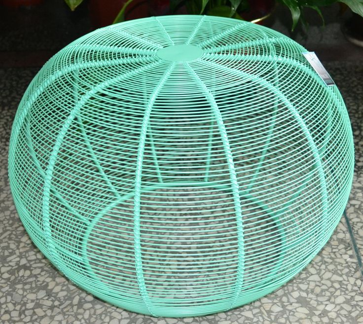 DECOR | Small aqua coloured iron stool which can also be used as a table. $110RRP AUD. For wholesale enquiries, email: info@philbee.com.au