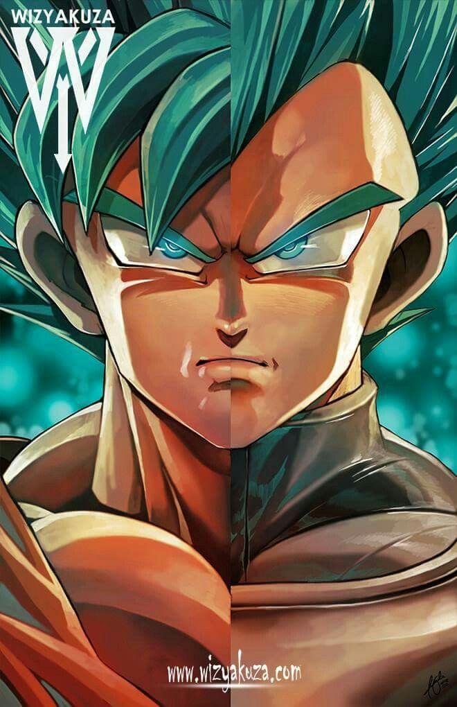 Goku and vegeta by wizyakuza