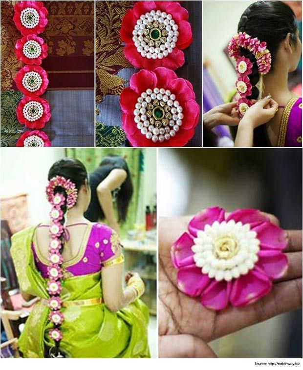 Hairstyles for Sarees Styles Crowning the Indian Bride