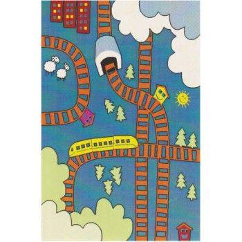 Χαλί μηχανής Bonita 811 Χαλί για παιδικά δωμάτια με υπέροχα χρώματα και σχέδια. Τα χαλιά αυτά έχουν frisee πέλος , υφαντό υπόστρωμα και το βάρος τους είναι 2800gr/m². Έχουν πολύ όμορφα και ζωηρά χρώματα και είναι κατάλληλα για αγορίστικα δωμάτια.