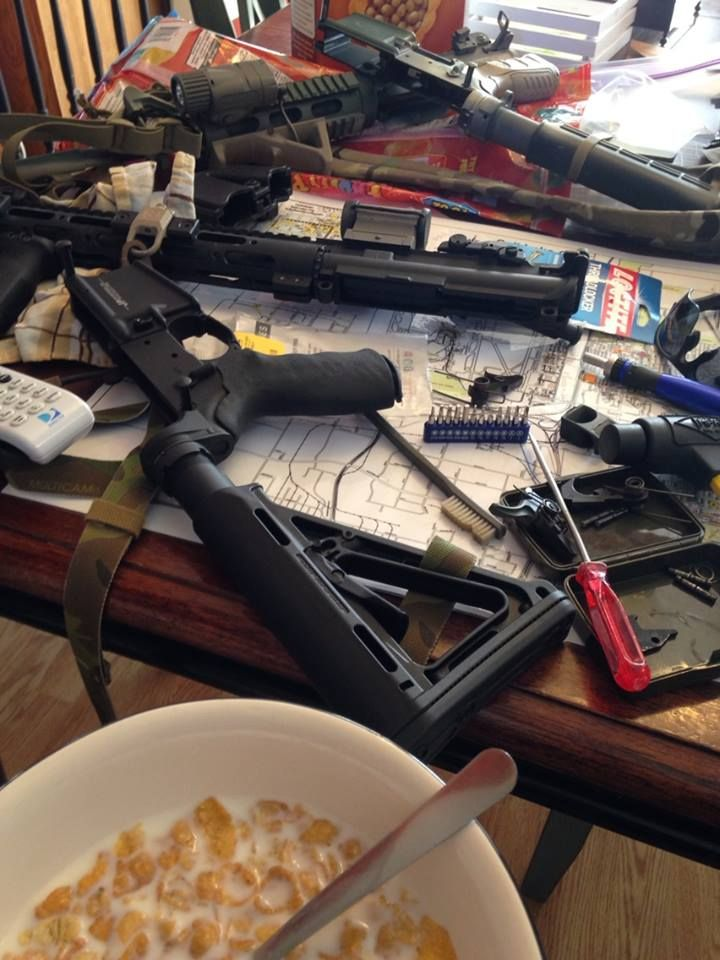 Guns and Cereal