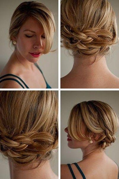 Braids braids braids. - Click image to find more Cars & Motorcycles Pinterest pins: Hair Ideas, Braided Updo, Wedding Hair, Hairstyles, Hair Styles, Braids