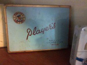 Player's Navy Cut Cigarette Tin