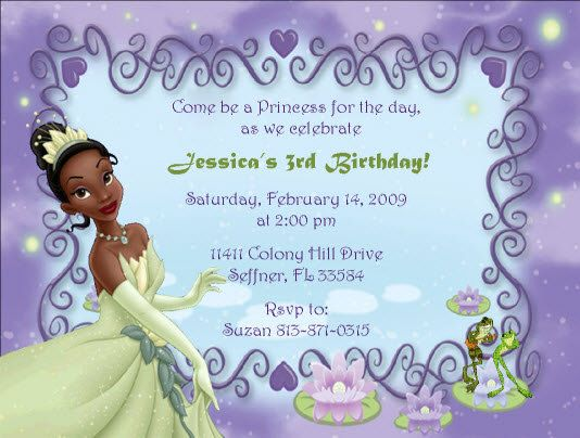 Frog Wedding Invitations: 17 Best Images About The Princess And The Frog Party On