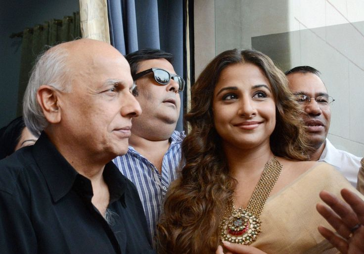 EMPOWERING WOMEN Filmmaker Mahesh Bhatt and actress Vidya Balan (r) visit Women Police Helpline in Lucknow, Jun. 16. (Nand Kumar|PTI) Vidya Balan recently visited Uttar Pradesh Government's 'Women Power Line' center to prompt women to come out and speak for themselves.  Vidya Balan, 37, was on the post-release promotional spree for her latest movie http://siliconeer.com/current/2015/06/19/empowering-women/