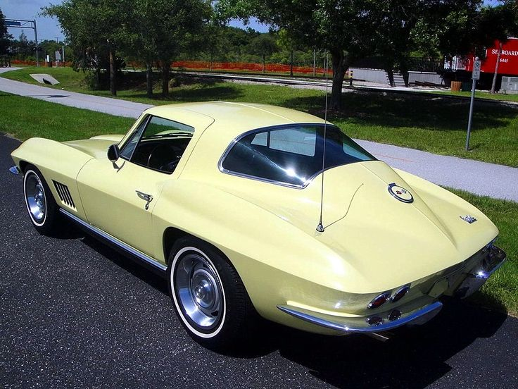 Corvette For Sale >> prova275: Sunfire Yellow… 1967 C2 coupe | Coupe, Cars and Chevrolet Corvette
