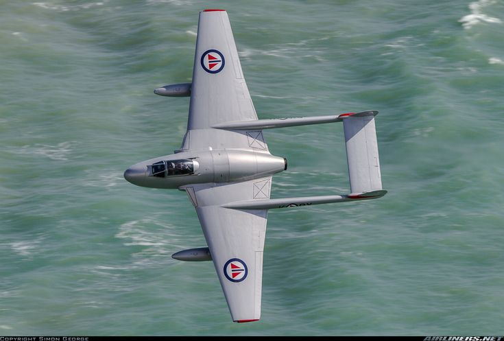 De Havilland (FFA) DH-100 Vampire FB6, Off-Airport - Eastbourne-England, UK, August 16, 2014 by Simon George