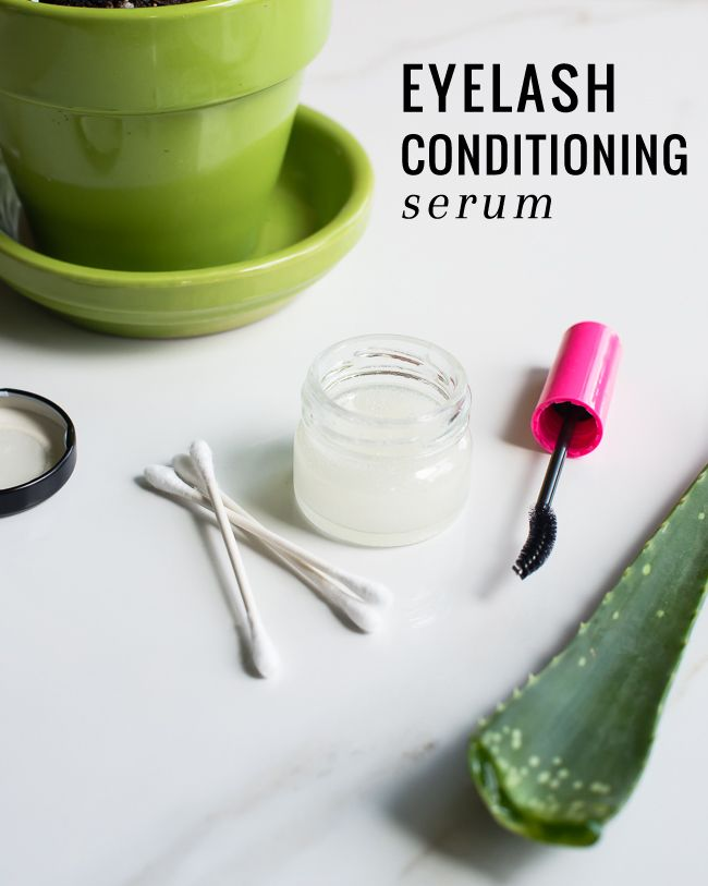 No need for mascara this summer. This two-ingredient homemade lash conditioning serum will leave your lashes lush and full.