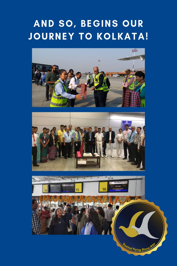 Here we come, Kolkata Our inaugural flights from