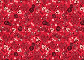 Steph Calvert/Bandana pattern for CAbi represented by Liz Sanders Agency