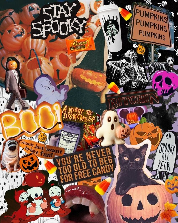 Pin by Mannie R on Aesthetic Halloween wallpaper, Fall