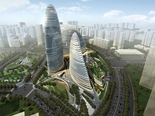 В Китае подделали дом Захи Хадид
