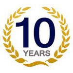 We are celebrating our 10th anniversary