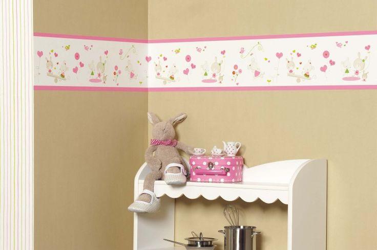 000. Voorbeeldkamer Wonderland | Roze | 123kinderbehang