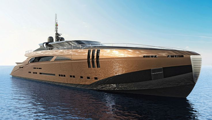 The 164-foot yacht has a sky lounge and a 1,000-square-foot owner's suite…