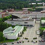 Seinajoki Library by Alvar Aalto at GreatBuildings
