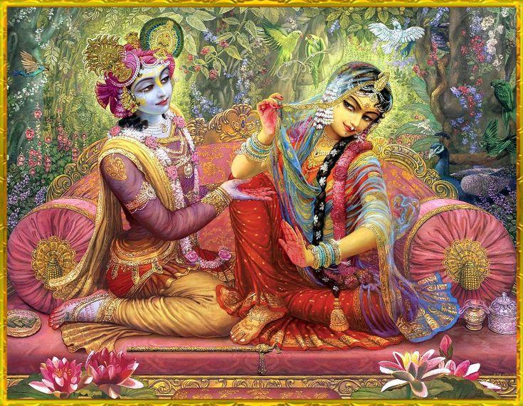 The Supreme All Attractive Couple Sri Sri Radha Krishna