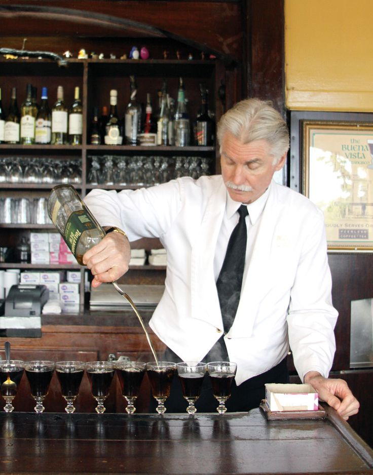 he served for years, he served me more than once and makes the BEST Irish coffee!