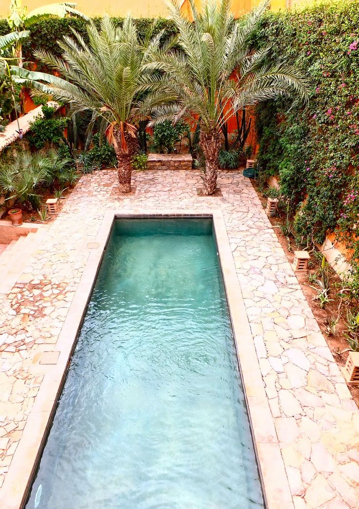 Oasis Pool In Taroudant Morocco Through The French Eye Of Design