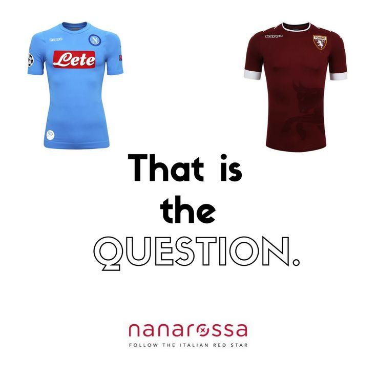 #Napoli o #Torino... questo è il problema. Per chi tifi? #diccilatua