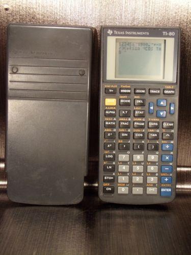 Calculatrice calculator scientific TEXAS INSTRUMENTS TI-80