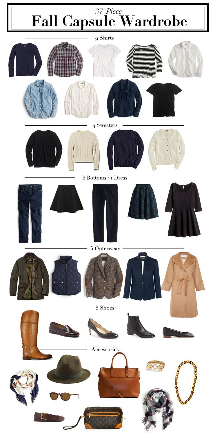 Fall Capsule Wardrobe From H M: 632 Best Capsule Wardrobes Images On Pinterest