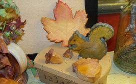 squirrel and acorn pattern for scroll saw