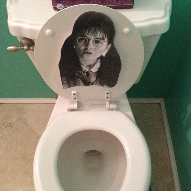 Pin for Later: Everything You Need For a Magical Harry Potter Halloween Party Don't Forget About All the Characters Everyone always focuses on the three main characters, but having a little fun with the others, like Moaning Myrtle, is clever as well.