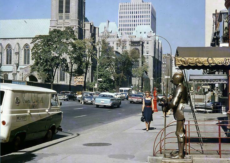 20 photos de Montréal prises entre 1950 et 1980 donnant le goût de remonter le temps   Narcity Montréal