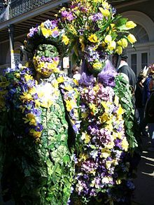 """Mardi Gras"" (pron.: /ˈmɑrdiɡrɑː/), ""Mardi Gras season"", and ""Carnival season"",in English, refer to events of the Carnival celebrations, beginning on or after Epiphany and culminating on the day before Ash Wednesday. Mardi gras is French for Fat Tuesday, referring to the practice of the last night of eating richer, fatty foods before the ritual fasting of the Lenten season, which begins on Ash Wednesday. The day is sometimes referred to as Shrove Tuesday, from the word shrive, meaning…"