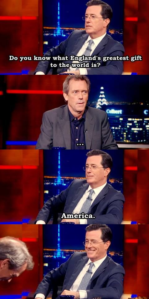 I was going to say Doctor Who but that works.  'murica!